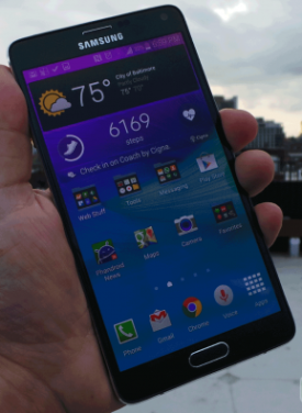 Galaxy Note 4 Hand On